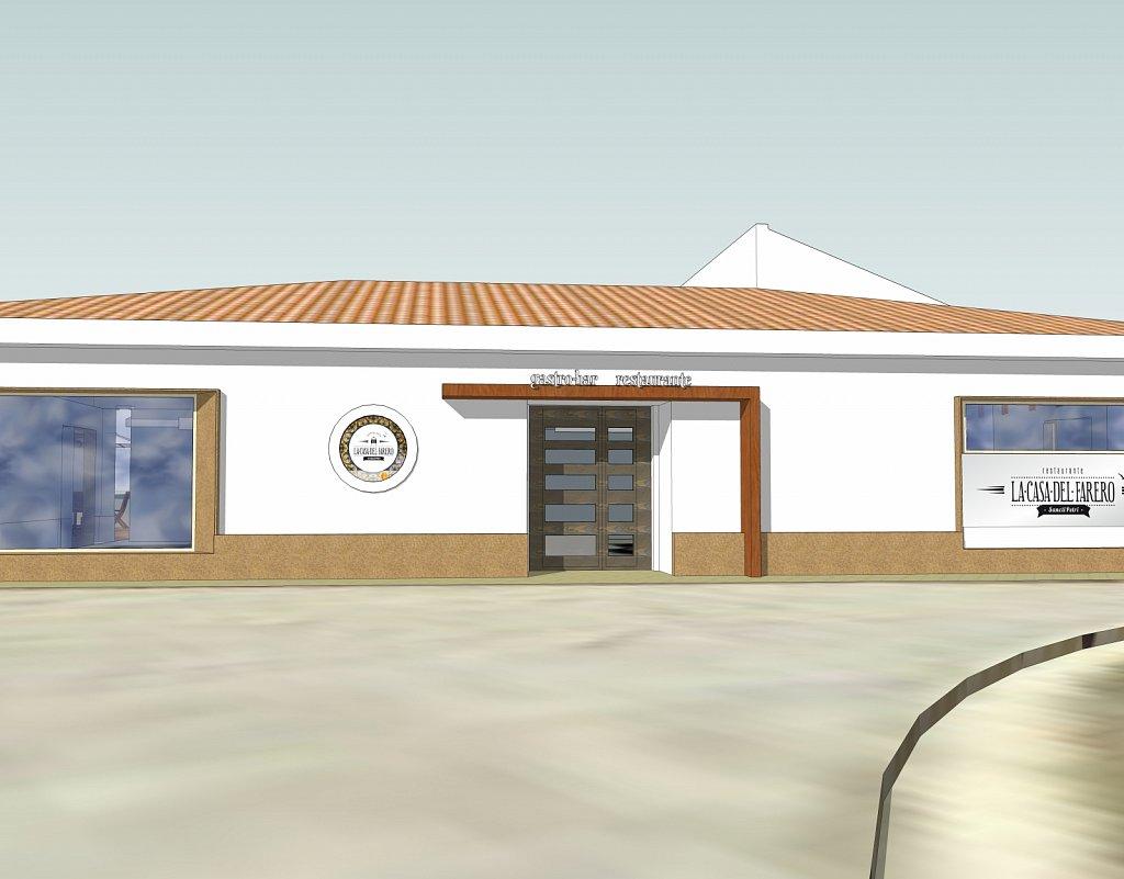 Diseño de fachada